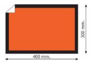 ADR Etiketit 40x30 cm - 25 kpl