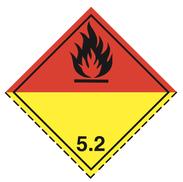 Luokka 5.2 - Varoituslipukkeet - 25 kpl