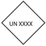 Valinnainen UN Nr. 10x10cm