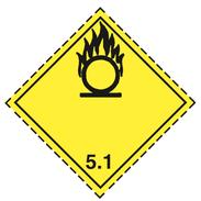 Luokka 5.1 - Varoituslipukkeet - 25 kpl